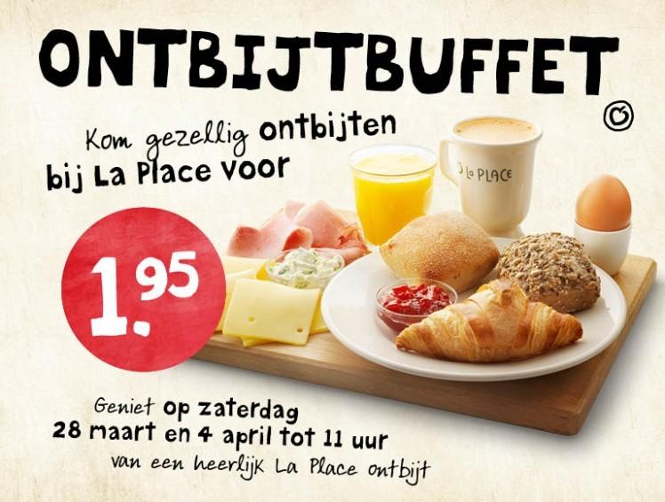 La place coupons ontbijt